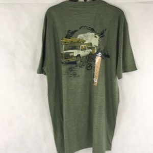 Magellan Outdoors Green Camping T-Shirt Size Large